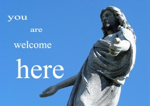 jesus-welcome-text