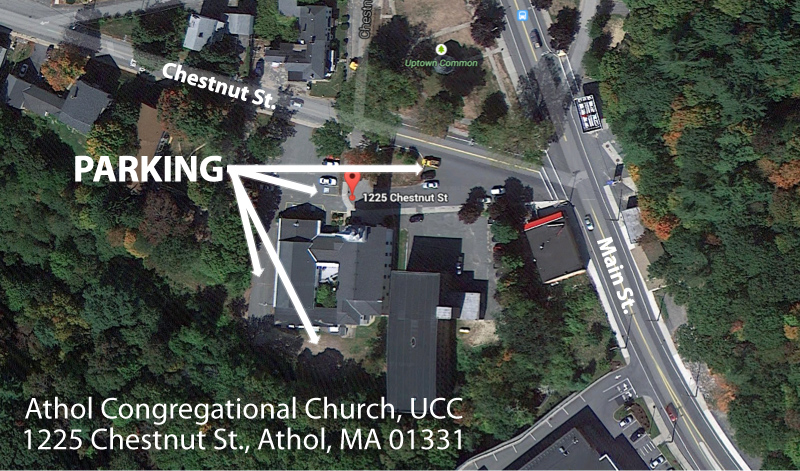 Athol Congregational Parking